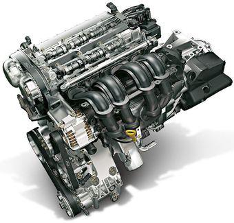 Двигатель 1.6 Ti-VCT Duratec, используемый на Ford Focus третьего поколения.
