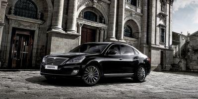 Hyundai представил в Москве обновленный флагман Equus