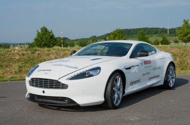 Aston Martin DB9 сгибридной системой Bosch стал быстрее