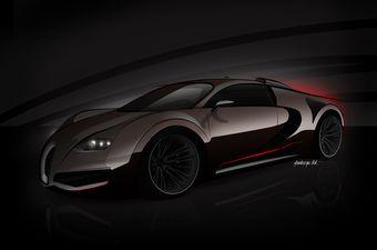 Bugatti Veyron с мощностью более 1500 л.с. представят в следующем году.