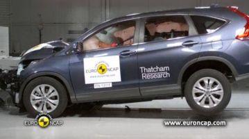 Honda CR-V и Citroen C4 Picasso получили «5звезд» на краш-тесте EuroNCAP