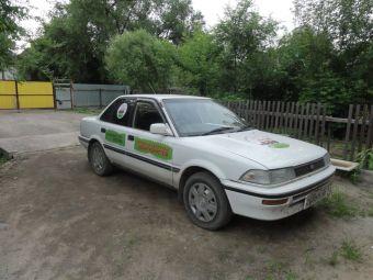 Участники форумов Drom.ru купили вскладчину старенькую Тойоту Короллу, чтобы устроить на ней автопробег из Владивостока в Москву.