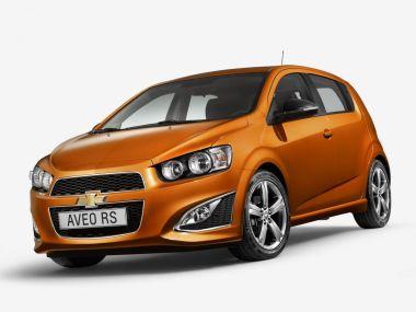 Chevrolet предложит вЕвропе спортивный хэтч AveoRS