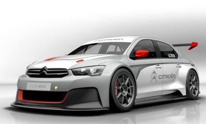 Citroen построил трековый спорт-кар для WTCC из бюджетного седана C-Elysee