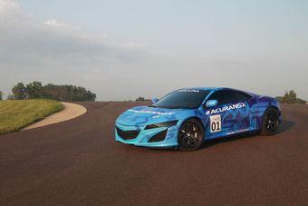 Прототип нового поколения Acura NSX