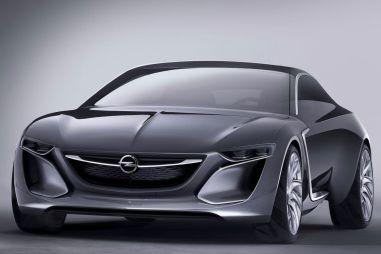 Франкфуртский концепт Opel Monza оказался хэтчбеком с«крыльями чайки»