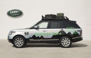 Land Rover анонсировал гибридный Range Rover