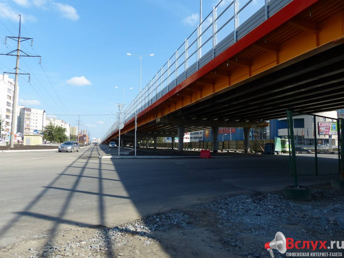 развязка по московскому мосту в тюмени схема