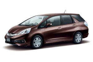 Honda представила рестайлинговые универсалы Fit Shuttle и Fit Shuttle Hybrid