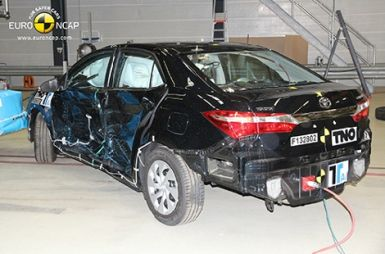 Европейцы провели краш-тесты пяти новинок: Corolla, Mazda 6, Lexus IS, Opel Adam и MMC Space Star
