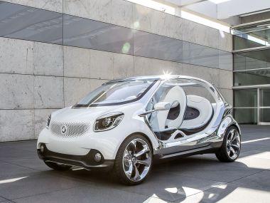 Smart готовит к Франкфурту концепт Fourjoy