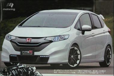 Японцы готовят к выпуску ряд спортивных гибридов: Honda Fit, Mazda3 и Subaru WRX STI