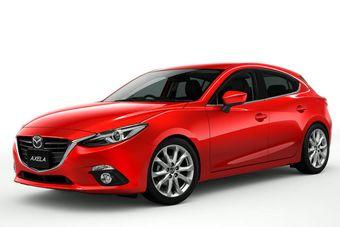 На японский рынок новая Axela выходит сразу в трех версиях: бензиновой, дизельной и гибридной.