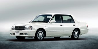 Toyota Crown Sedan в комплектации Super Saloon (цвет White Pearl Crystal Shine)