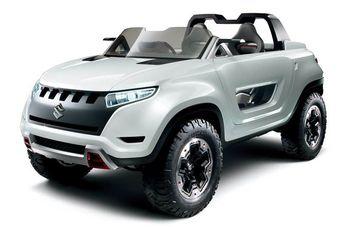 На 43-м Токийском автосалоне Suzuki продемонстрирует не только перспективный дизайн, но и технологии для своих будущих моделей. На фото — внедорожник Suzuki X-LANDER.