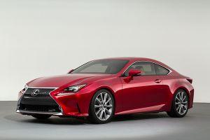 Lexus представляет прототип нового купеRC. Премьера — вТокио
