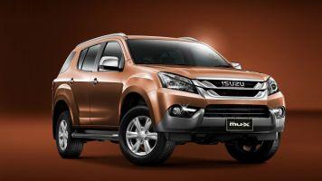 Компания Isuzu представила модель MU-X на базе Chevrolet Trailblazer
