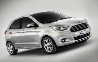 Ford показал прототип нового поколения субкомпактной модели Ka