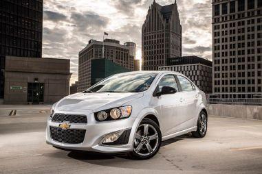 В США показали форсированный Chevrolet Aveo