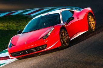 Автомобиль был доработан по заказу частного клиента, который решил отразить в дизайне своего суперкара дух формульных болидов Scuderia Ferrari 1970-х годов.