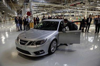 Saab возобновляет серийное производство седанов 9-3