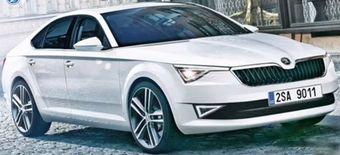 Таким, по предположению Auto Express, будет четырехдверное купе Skoda.