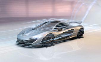В новых моделях McLaren может отказаться от привычных щеток стеклоочистителей в пользу новых технологий.