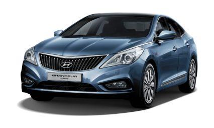 Hyundai начинает продажи в Корее гибридного седана Grandeur