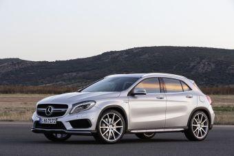Mercedes-Benz GLA45 AMG появится у дилеров уже в этом году. Автомобиль станет третьей по счету спортивной моделью на новой платформе MFA.