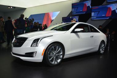 Детройт-2014. Cadillac представил новое купе ATS