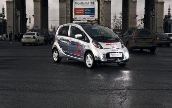 Mitsubishi i-MIEV тест-драйве Drom.ru
