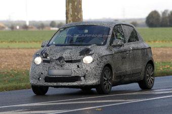 Новый Renault Twingo засняли во время тестов осенью 2013 года.