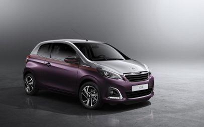 Новый компакт-кар Peugeot 108 покажут в Женеве