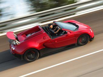 Bugatti никак не может продать 40 родстеров Veyron по 1,6 млн евро каждый.