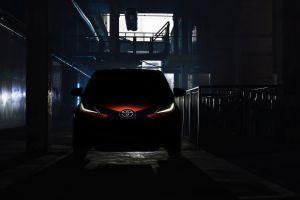 Toyota привезет в Женеву новый Aygo