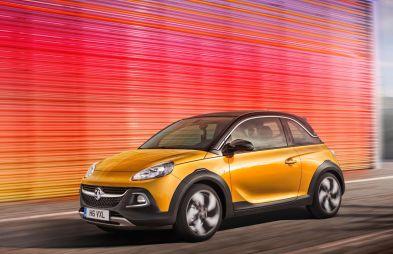 Opel представил серийный вариант «мини-кроссовера» Adam Rocks