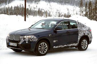 Новый кроссовер построен на платформе BMW X3.