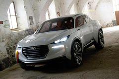 По всей видимости, Hyundai Intrado станет предвестником нового поколения модели ix35 (Tucson).