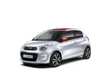 С1 предложат покупателям в восьми вариантах окраски кузова с несколькими комбинациями из двух цветов.