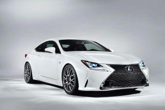 Lexus позиционирует RC 350 F Sport как отдельную модель, а не двухверную версию седана IS.