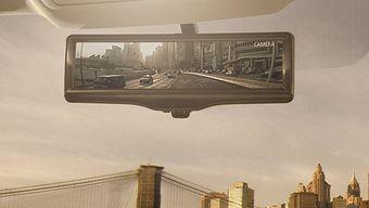 Система Smart Rearview Mirror способна отображать четкую картинку даже в сложных климатических условиях или при наличии бликов и избыточного освещения, например, во время следования перед автомобилем с яркими фарами.