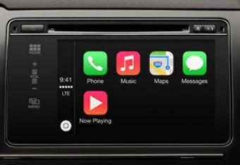 После интеграции телефона автомобиль превратится в своеобразную док-станцию для iPhone, предоставляющую доступ к базовым функциям смартфона.