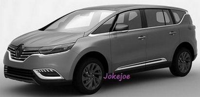 Опубликованы изображения компактвэна Renault Espace нового поколения