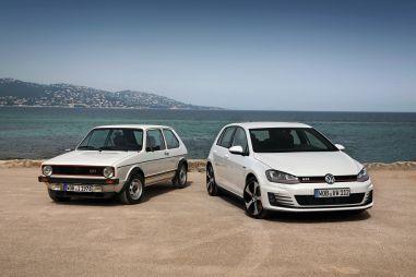 Volkswagen отмечает 40-летие модели Golf