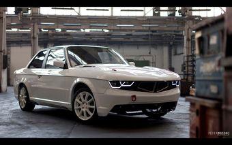 Создатели тюнинг-кита попытались представить, как могла бы выглядеть «эволюция» 3-Series E30, если бы BMW не изменила свой подход к дизайну автомобилей со сменой генерации «третьей серии» в начале 1990-х.