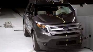 Краш-тест в классе SUV: Highlander, 4Runner, Grand Cherokee, Equinox, Explorer, Sorento, CX-9 и Pilot