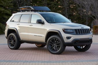 Jeep Grand Cherokee Trail Warrior Concept