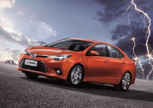 Пекин-2014. Toyota будет продавать вКитае седан Corolla подбрендом Levin