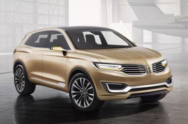 Пекин-2014. Lincoln MKX стал первым концепт-каром марки, показанным за пределами США
