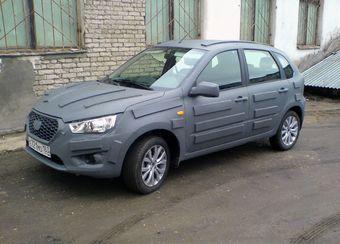 Попавший в объектив автомобиль создан на базе «Калины» с кузовом «хэтчбек».